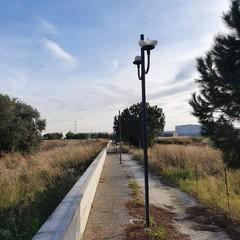 La via che porta dall'Interporto alla stazione Tesoro