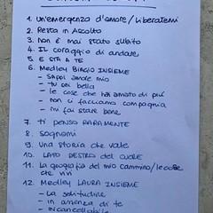 La scaletta del concerto di Laura Pausini e Biagio Antonacci