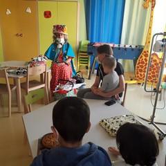 Zia Caterina incontra i bambini del reparto oncologico di Bari