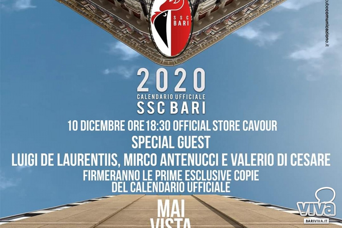Presentazione calendario ssc Bari