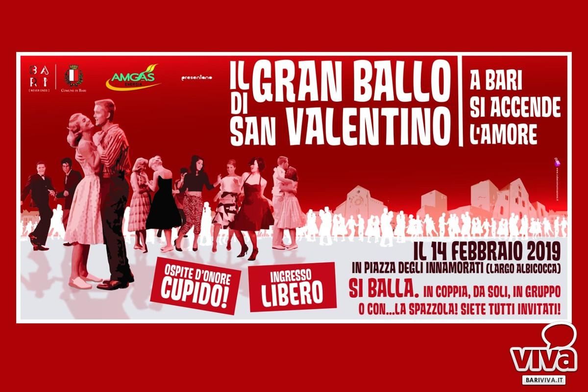 San Valentino a Bari, la locandina