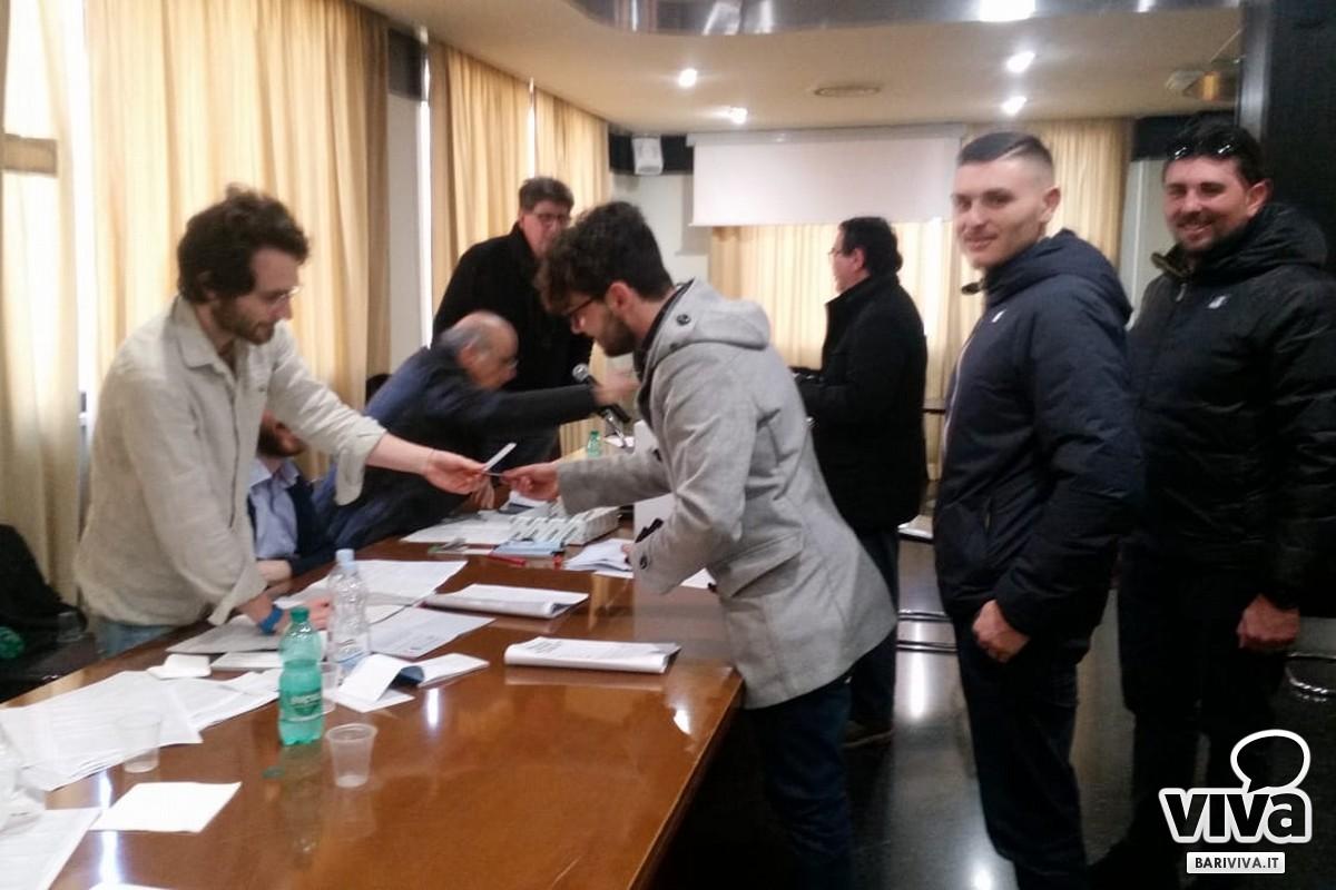 Il seggio delle primarie PD