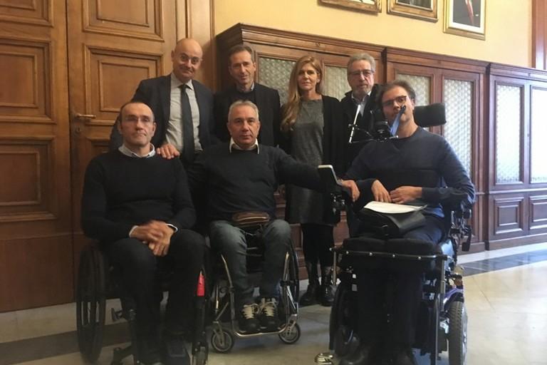 Giornata internazionale delle persone con disabilita oggi lincontro a Palazzo di citta JPG