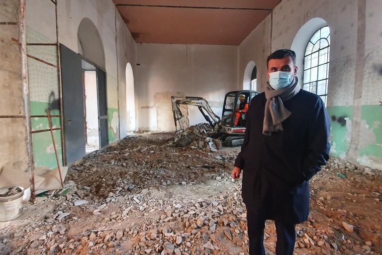 al via il cantiere per la caserma dei Carabinieri nella ex Manifatura Tabacchi