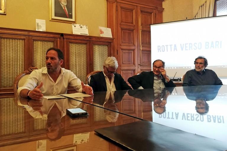 conferenza stampa Rotta per Bari