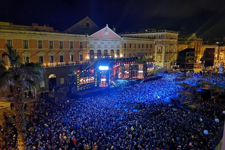Capodanno in piazza Liberta