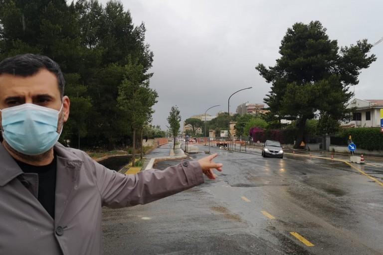 sopralluogo cantiere allargamento via Amendola