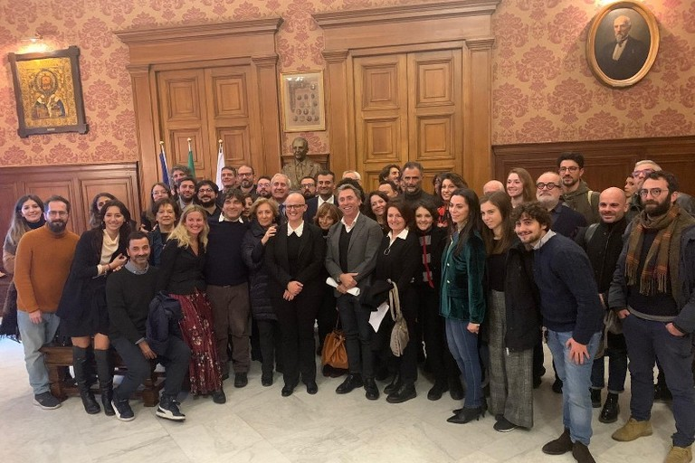 a Bari il primo festival dellarchitettura la conf stampa