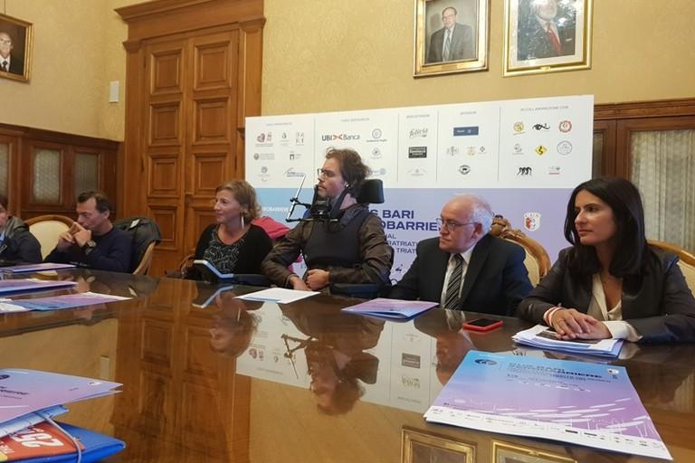domenica ottobre torna a Bari la gara di paratriathlon e triathlon Cus Bari Zerobarriere