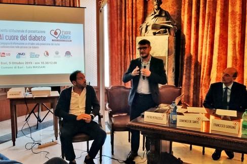a Bari la campagna nazionale Al cuore del diabete