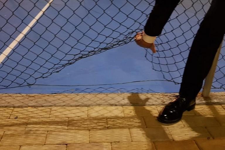 recinzione playground