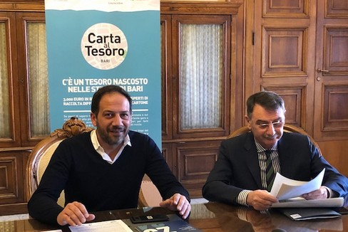 presentato oggi Carta al Tesoro il gioco promosso da Comieco la conf stampa