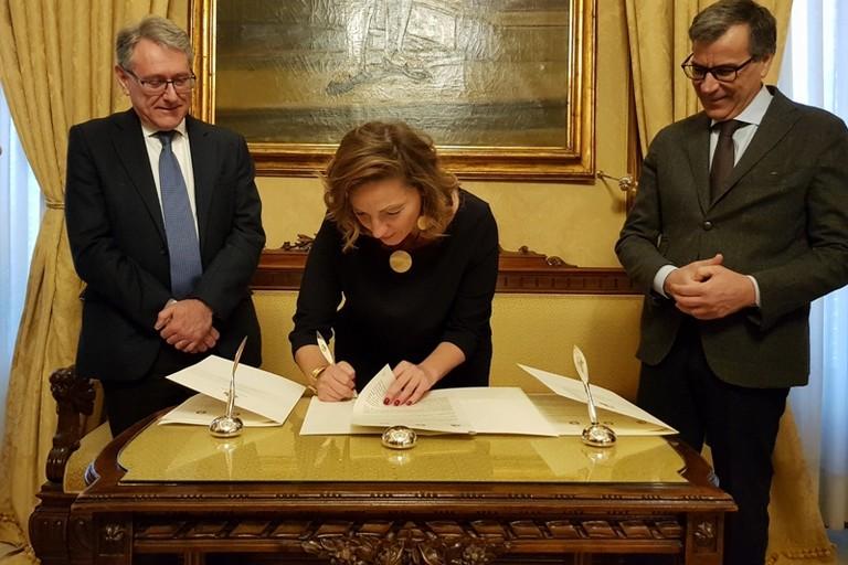 siglato il protocollo tra comune e uffici giudiziari minorili per maggiore sinergia istituzionale a tutela dei minori doc