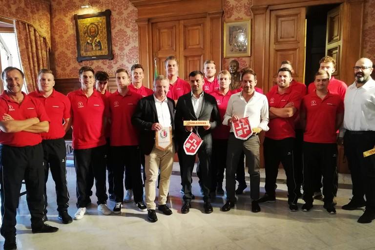 conferenza stampa nazionale Svizzera waterpolo
