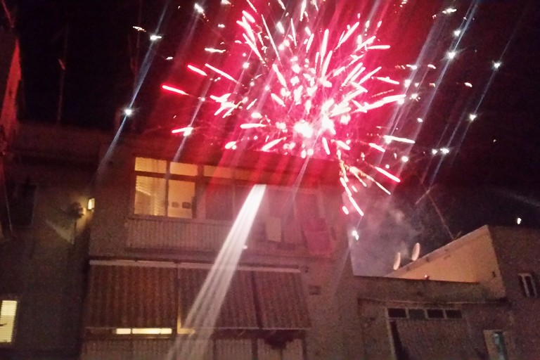 Fuochi d'artificio al Libertà