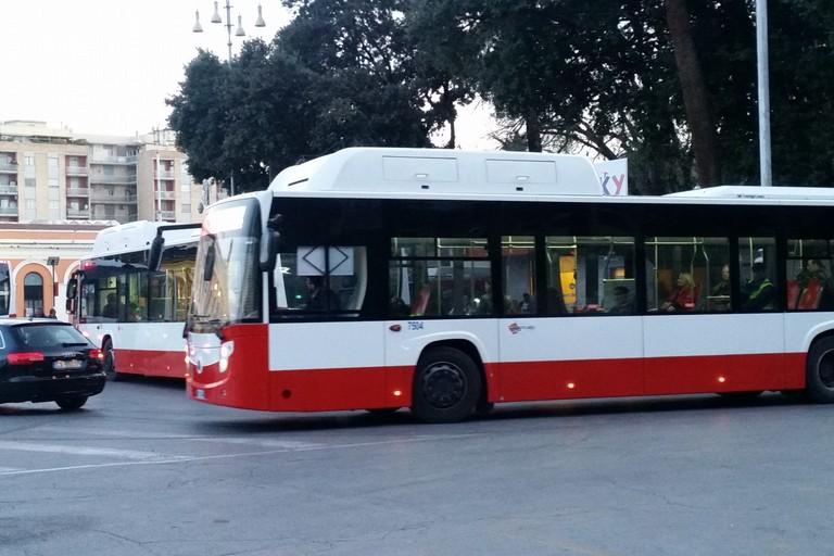 Un nuovo autobus Amtab