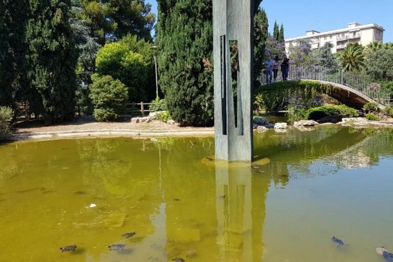 Il laghetto di Parco 2 Giugno