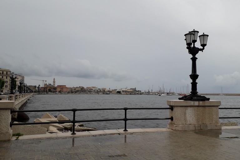 Pioggia a Bari