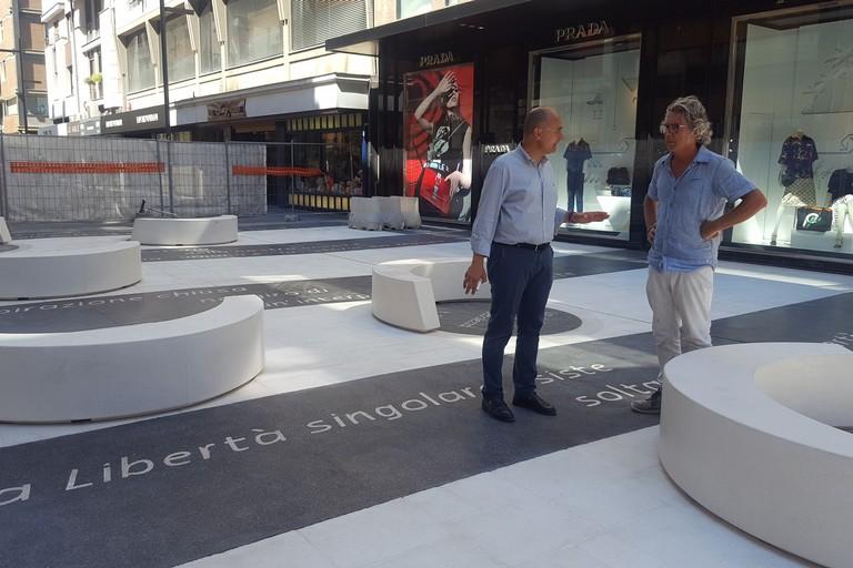 """Bari, via Sparano, ecco il """"Salotto Letterario"""""""
