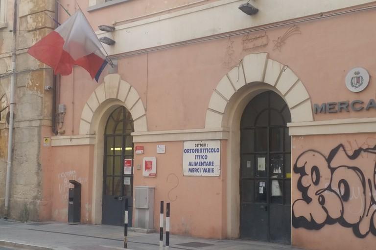 L'ingresso di Porta Futura accanto al Mercato