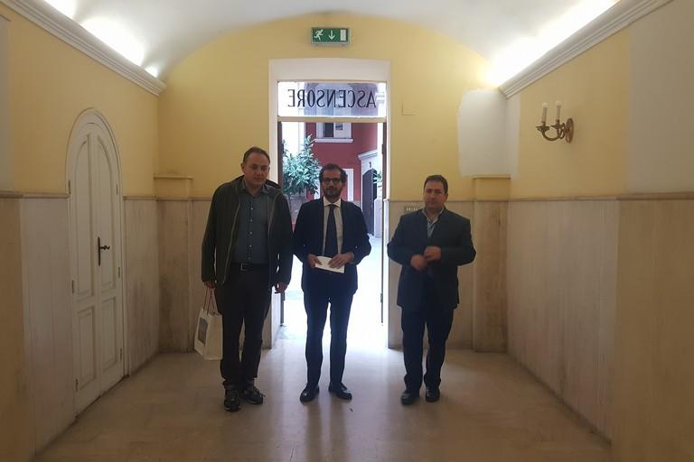 La delegazione di Fratelli d'Italia