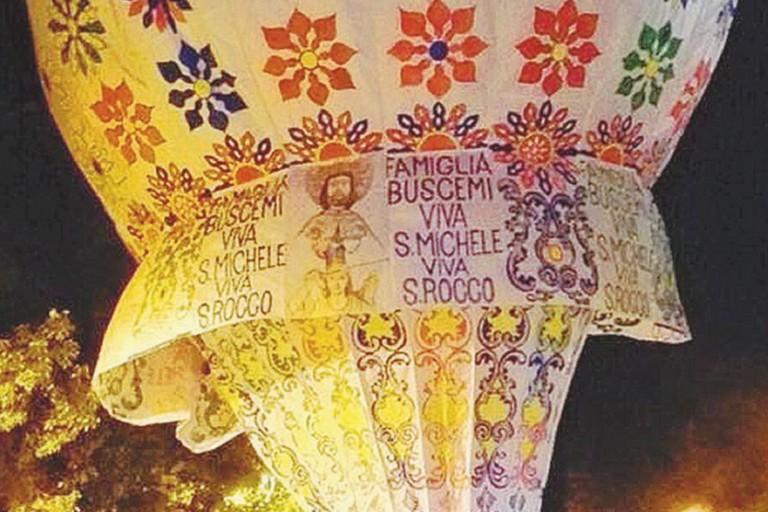 La famosa mongolfiera