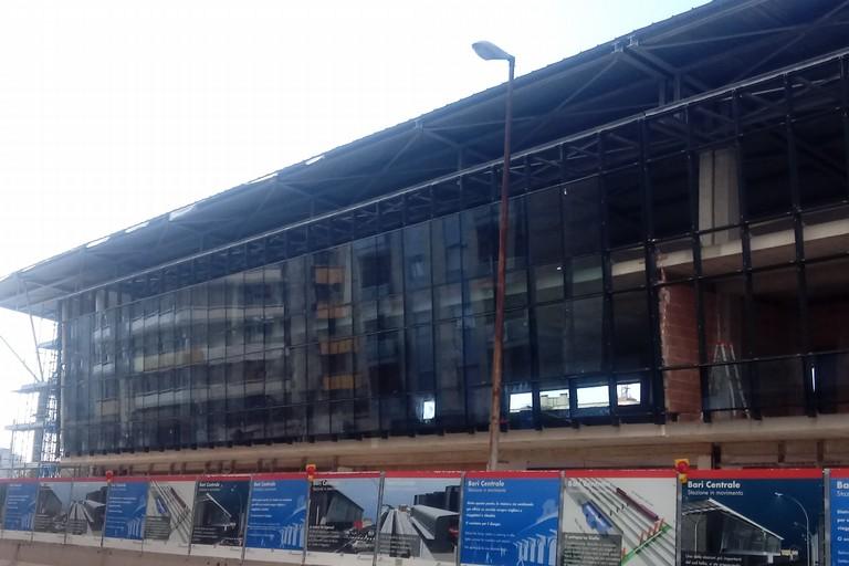 Il nuovo edificio in costruzione in via Capruzzi