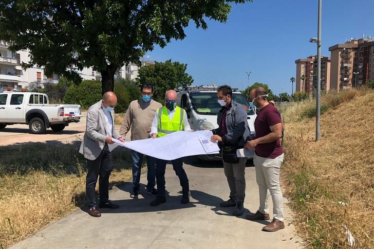 al via gli interventi per il nuovo impianto di illuminazione al parco Giovanni Paolo II