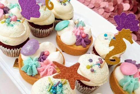 alcuni cup cakes della pasticceria