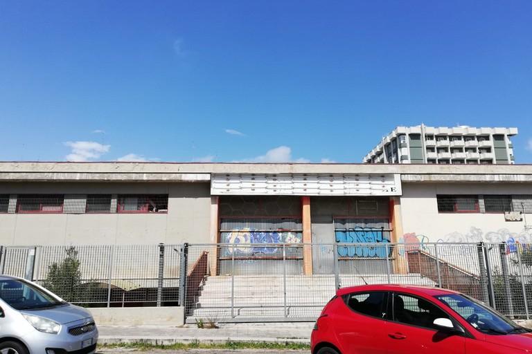 L'ex mercato di via Carrante