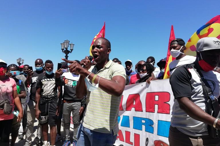 aboubakar soumahoro protesta braccianti