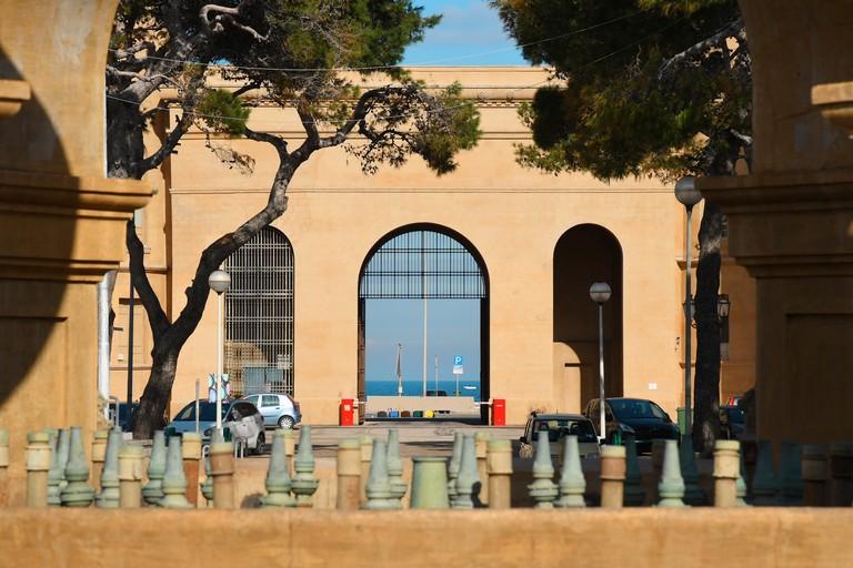 Arco Porta Monumentale Fiera del Levante Bari