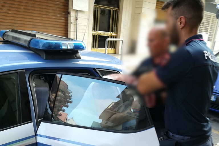 arresto per violenza