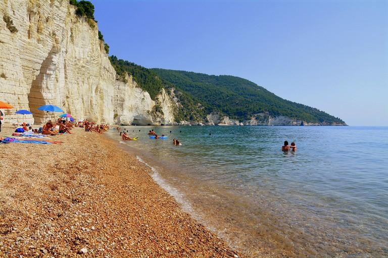Una spiaggia in Puglia