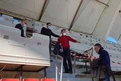 Tribuna stampa del San Nicola, dopo la pioggia il Comune di Bari corre ai ripari: pronti 48 posti in più