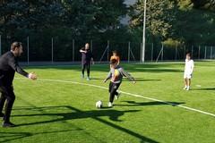 Un nuovo campo da calcio nel giardino Green Mission, inaugurato il playground di Santa Rita