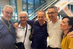 John Turturro è sbarcato a Bari, stasera sarà a Giovinazzo