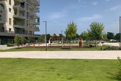 Bari, nuova area verde a Poggiofranco: panchine e un'area ludica per i bambini