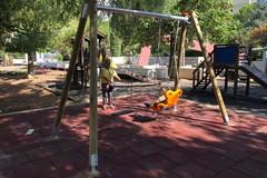 Picone, nel giardino degli Aquiloni un'altalena accessibile anche ai bambini con disabilità