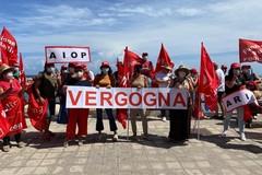 A Bari protestano i lavoratori della sanità privata, i sindacati: «Subito rinnovo contratto nazionale»