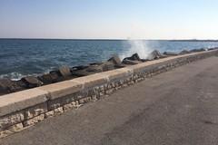 San Cataldo, ricostruiti i muretti distrutti dalle mareggiate dell'inverno