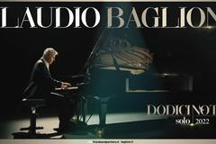 """Claudio Baglioni a Bari, il suo tour """"Dodici note solo"""" al Petruzzelli a febbraio"""
