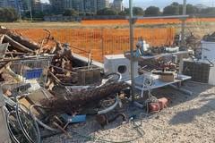 """Bari, """"spazzatour"""" nelle campagne di Japigia teatro dei roghi"""