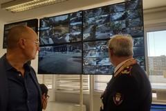 Più sicurezza in piazza Umberto. Completata l'installazione di 16 videocamere in 4k