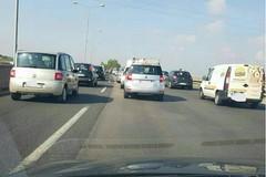 Statale 16 da incubo a Bari, doppio incidente all'altezza di Palese