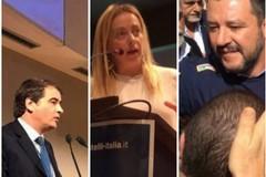 Fitto, Meloni, Salvini. Le primarie del centrodestra richiamano a Bari la politica nazionale