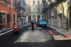 Via Roberto da Bari, ripresi i lavori sul primo isolato. Interventi da 300 mila Euro