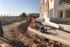 Bari, nuova illuminazione, videosorveglianza e strade asfaltate a Sant'Anna