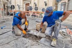 Bari Vecchia, via ai lavori di sistemazione delle basole in via Boemondo