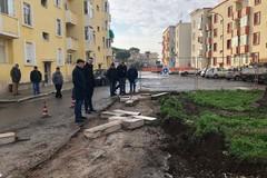 San Girolamo e Fesca, in corso i lavori per riasfaltare le strade